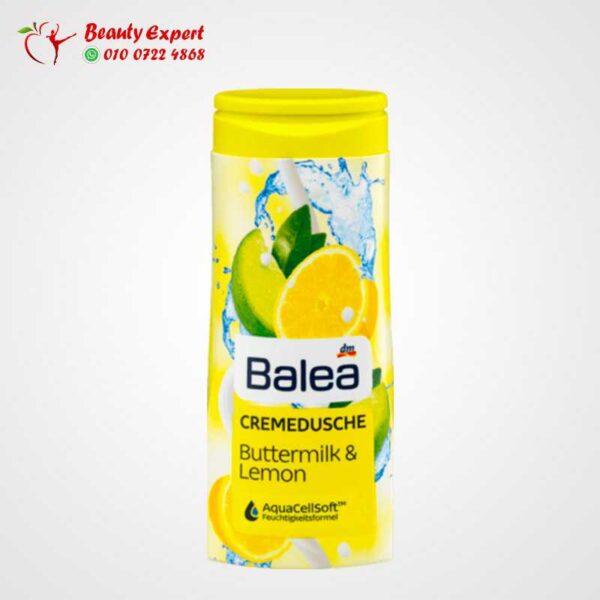 كريم الاستحمام بزبد اللبن والليمون