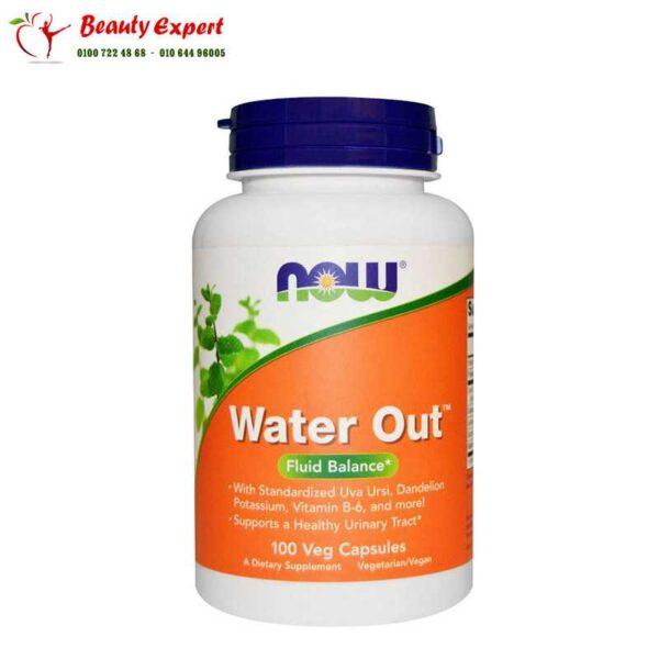حبوب تنزيل المياه من الجسم Now Foods Water Out capsules